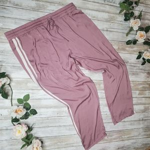 American eagle plus size pink light weight track